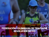 FEDERACIÓN COLOMBIANA DE TRIATHLON